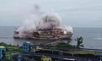 Türk şirketin gemisinde patlama