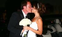 Tarantino genç sevgilisiyle evlendi