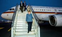 Merkel'in uçağına sabotaj soruşturması