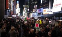 ABD'de halk Rusya soruşturması için sokağa döküldü