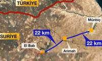 Esad güçleri Münbiç'in batı kırsalına girdi!