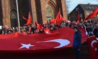 Almanya'da büyük Zeytin Dalı mitingi