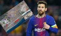 Messi'nin evinin üstünden uçak geçmesi yasak!