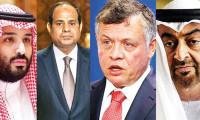 Beş Arap ülkesi Türkiye'ye karşı toplandı!