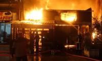 Bursa'da çifte yangın