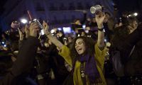 İspanya'da 24 saatlik feminist grev
