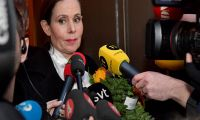 Başkan Sara Danius istifa etti.