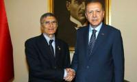 Erdoğan ve Sancar havalimanında buluştu