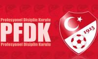 4 büyükler PFDK'ya sevkedildi