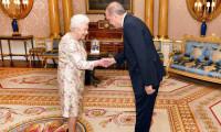 Erdoğan Kraliçe 2. Elizabeth ile görüştü