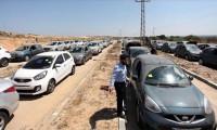 İsrail Gazze'ye araç girişini durdurdu