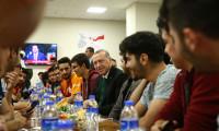 Erdoğan gençlerle sahurda buluştu