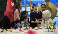 Emine Erdoğan,koruma altındaki çocuklarla buluştu