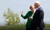 Merkel'den Trump'a yaylım ateşi