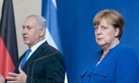Netanyahu, Merkel'i ikna edemedi