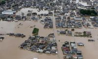 Japonya'daki selde ölü sayısı 176'ya yükseldi