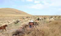 İlçede başkan, merada çoban