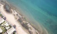 Yalova'da deniz 25 metre çekildi