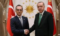 Erdoğan, Almanya Dışişleri Bakanı Maas'ı kabul etti