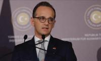 Maas: Türkiye'yi Tahran'daki zirvede destekliyoruz