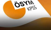 KPSS sınav tarihleri belli oldu!