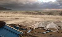 5 metrelik dev dalgalar Fethiye'yi vurdu