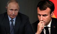 Putin ile Macron, Suriye'yi görüştü