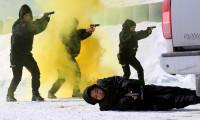 Zorlu kış koşullarında eğitim