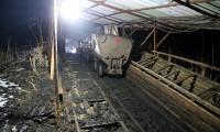 Amasya'da maden ocağı çöktü
