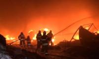 İzmir'de fabrikada yangın!