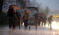Meteoroloji'den sağanak yağmur ve şiddetli rüzgar uyarısı
