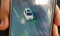 Polis helikopteri ile yarıştı, hız aşımından cezayı yedi