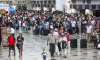Antalya'ya 9 ayda 13 milyon turist geldi