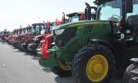 Çiftçiler, traktörleriyle 'Barış Pınarı Harekatı'na destek oldu
