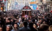 Türkiye'ye 64 bin 'milliyetsiz' turist geldi