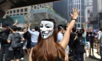 Hong Kong'da eylemlerde maske takılması yasaklandı