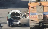 İBB aracından yakıt takviyesine polisten inceleme