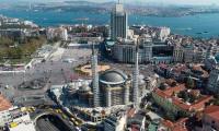 Taksim Camisi'nin ince işçiliğinin yüzde 35'i tamamlandı