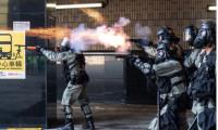 Hong Kong polisinden öğrencilere gerçek mermi uyarısı