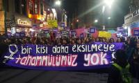Kadınlardan 25 Kasım yürüyüşü: Bir kişi daha eksilmeye tahammülümüz yok