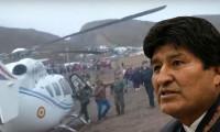 Bolivya Devlet Başkanı'nın helikopteri acil iniş yaptı