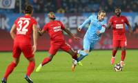 Trabzonspor, Ümraniyespor'la berabere kaldı