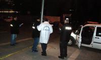 Kayseri'de devriye gezen polis aracına silahlı saldırı