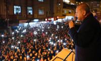 Cumhurbaşkanı Erdoğan'a Belen'de yoğun ilgi