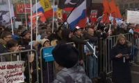 İnternet kısıtlamalarına Moskova'da protesto