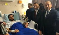 Oktay ve Çavuşoğlu'ndan yaralılara ziyaret