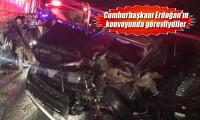 Özel harekat polislerini taşıyan minibüs TIR'la çarpıştı: 5 yaralı
