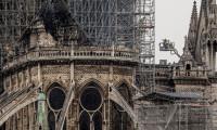 Yangın sonrası Notre Dame Katedrali havadan görüntülendi