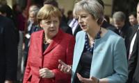 Theresa May, Almanya Başbakanı Angela Merkel ile Brexit'i görüşecek