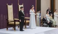 Yeni Japon imparatoru Naruhito tahta oturdu